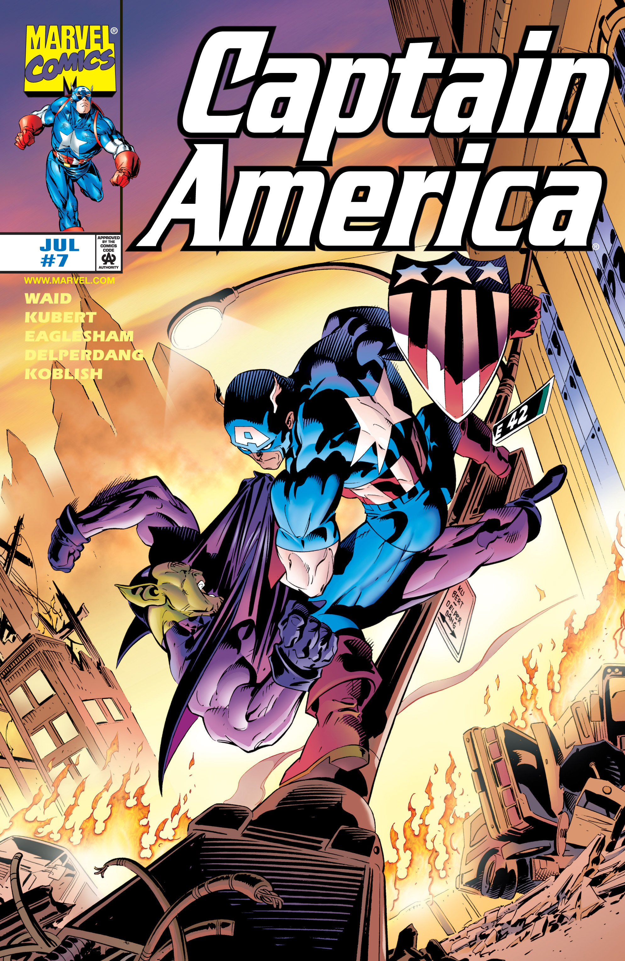 Captain America (1998) Issue #7 #10 - English 1