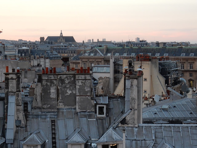 Rooftops of Paris CapturingParis.blogspot.com