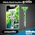 Brindes Grátis - Gillette Mach3 Sensitive