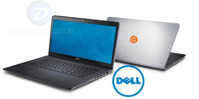 Notebooks da Dell com Ubuntu