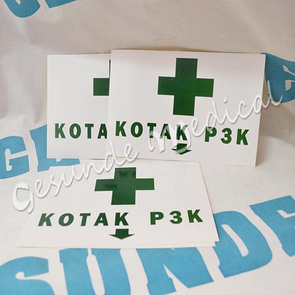 jual stiker p3k murah