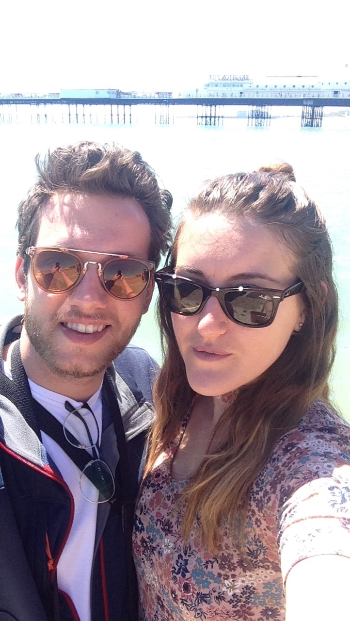 Couple in Brighton