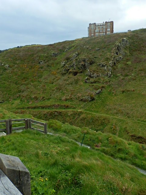 Camelot Hotel, Tintagel, Cornwall high on the cliff top