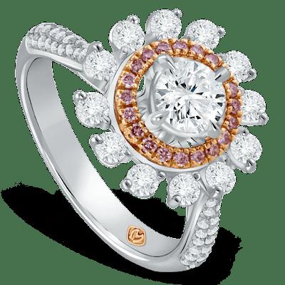 Memilih Cincin Berlian yang Menggunakan Berlian Asli