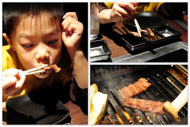 Japanese BBQ Beef at Osaka