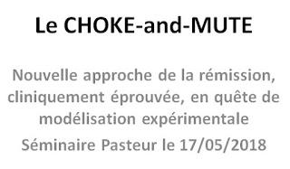 Choke-and-Mute eclipse ANRS Quatuor Charles-Edouard Pasteur séminaire