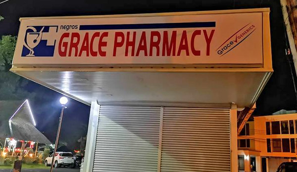 Negros Grace Pharmacy - selling - Ayala - Bacolod drugstore