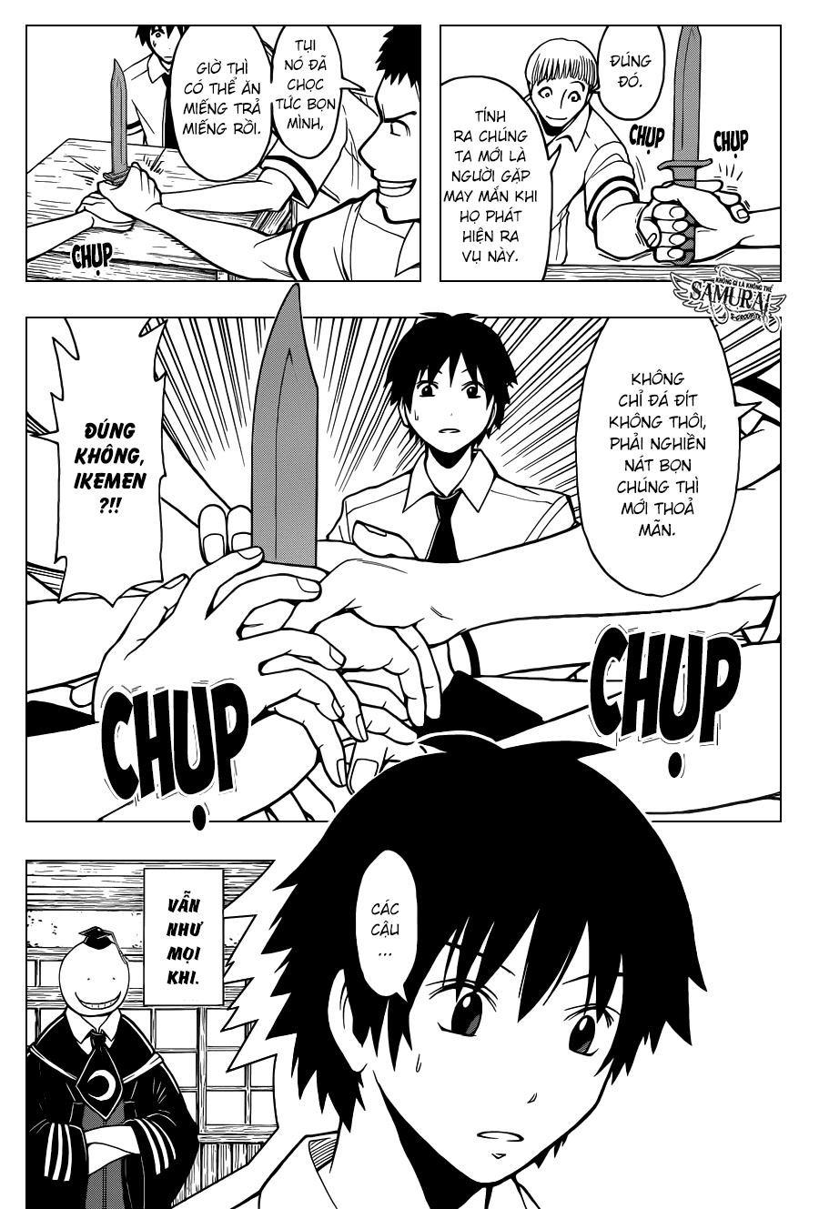 Ansatsu Kyoushitsu chap 90 trang 17