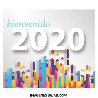 Bienvenido Año Nuevo 2020 Imágenes de Felices Fiestas. Tarjetas para enviar por WhatsApp
