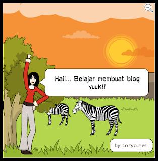 Tutorial membuat Blog dengan Blogspot sampai Anda bisa!