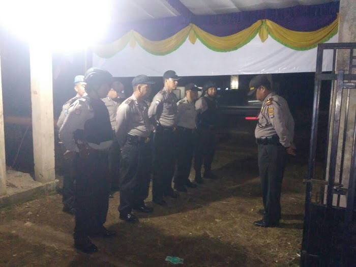 Polsek Way Jepara Melakukan Giat Pengamanan Jalintim