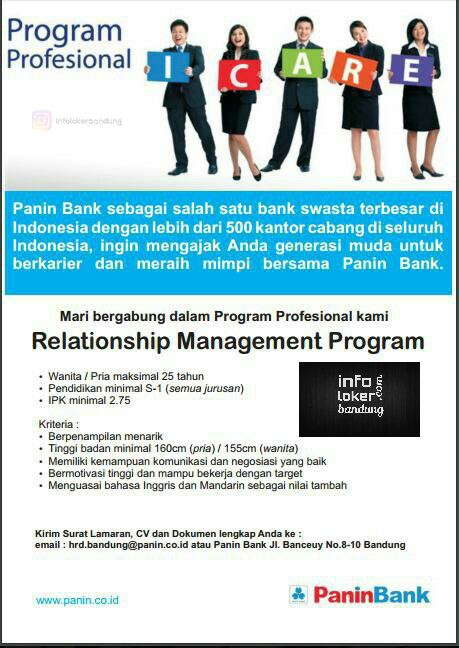 Lowongan Kerja Bank Panin Maret 2017