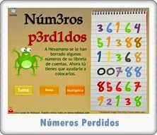 http://juegoseducativosonlinegratis.blogspot.com/2012/10/numeros-perdidos-de-vedoque-suma.html