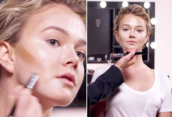 Blending (Contouring For Heart-Shaped Face) Beauty & Styles #MakeUpArts