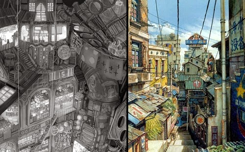 00-Teikoku-Shounen-Architectural-Drawings-in-Color-and-Black-and-White-www-designstack-co