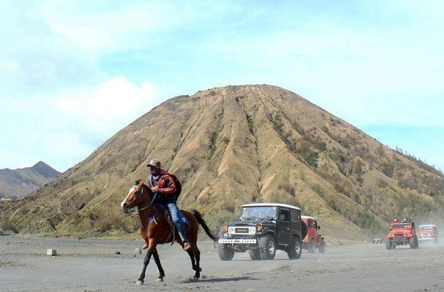 Gurun Pasir Taman Nasional Bromo Tengger Semeru