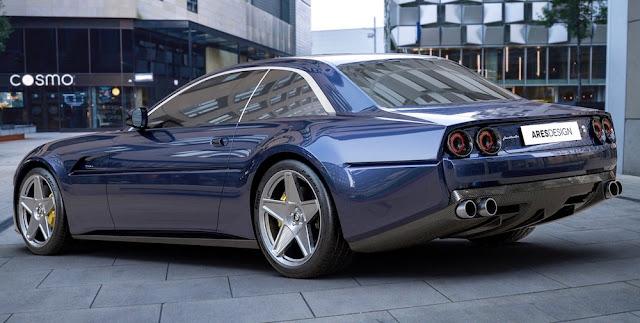 フェラーリ プロジェクト・ポニーのエクステリアデザインの写真。