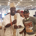 Actor Saidi Balogun Finally Meets Ooni Of Ife in Brazil. (Photos)