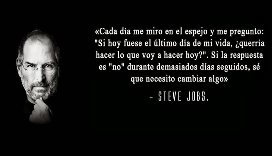 Frases motivacionales de Steve Jobs