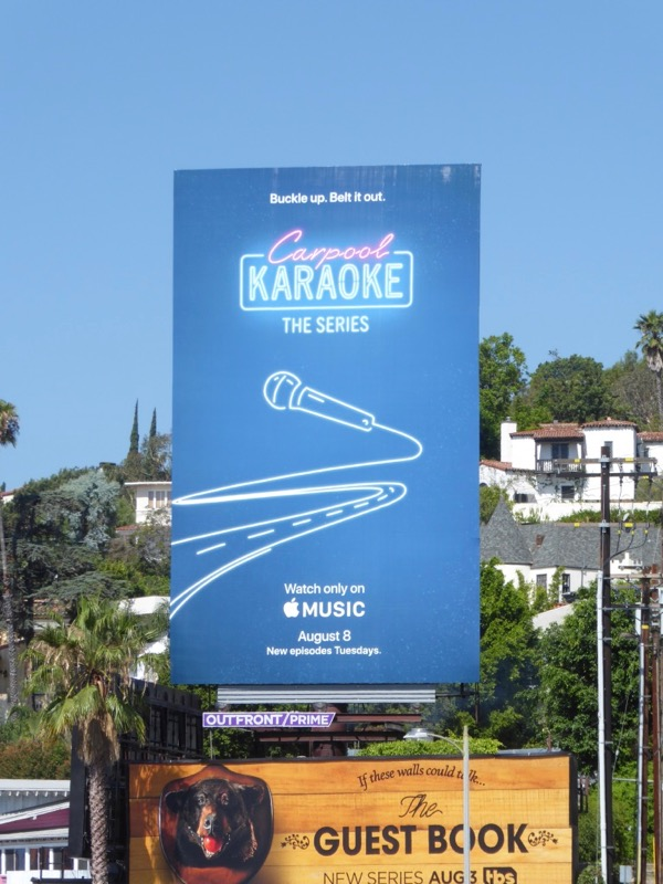 Carpool Karaoke Series billboard
