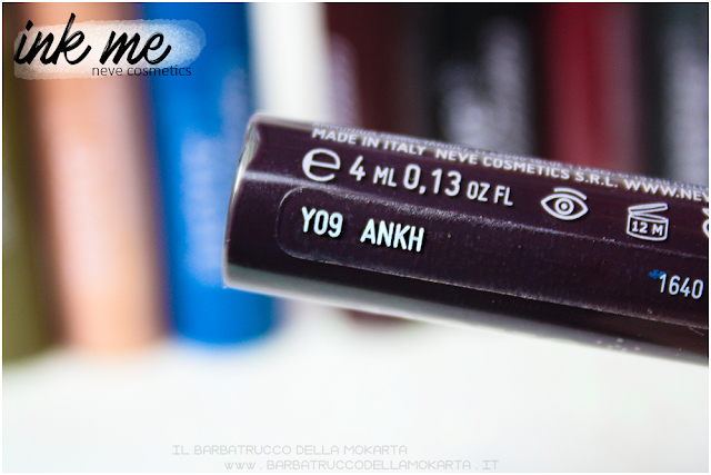 ANKH INKME EYELINER NEVE COSMETICS REVIEW RECENSIONE