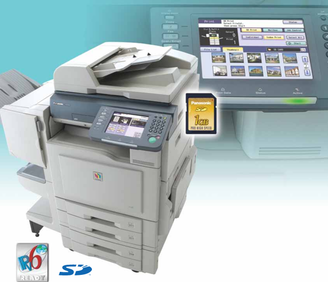 Panasonic WORKiO DP-8025 PCL Printer Windows 7