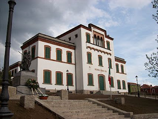 Crespi d'Adda had its own school, built for the children of the workers in Cristoforo Crespi's factory