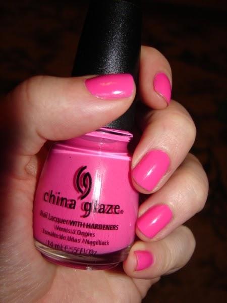 China Glaze Pink Nail Polish Jenny S Nail Polish Blog