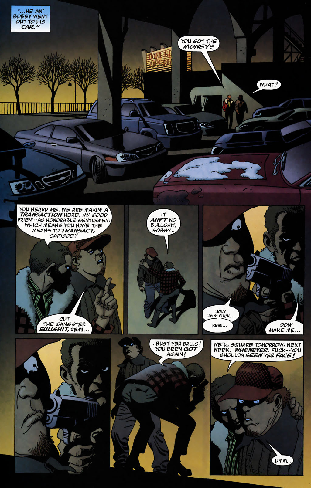 Read online 100 Bullets comic -  Issue #72 - 21