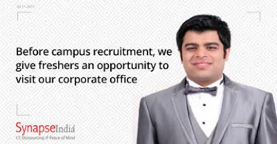 SynapseIndia recruitment