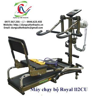 Máy chạy bộ cơ Royal 112Cu
