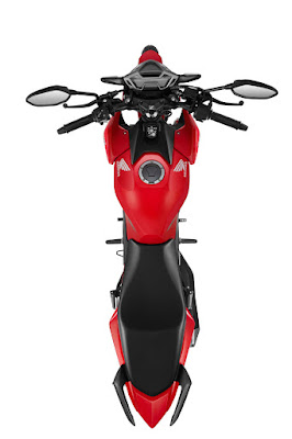 All New 2016 Honda CB150R Streetfire top view Hd pose