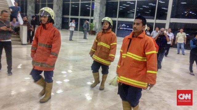 Gedung Nusantara III DPR Terbakar
