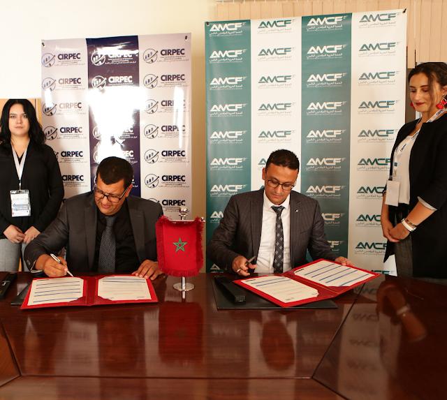 Signature d'une convention de partenariat entre le CIRPEC et l'AMCF