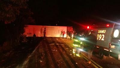 Resultado de imagem para Nove estudantes ficam feridos em acidente de ônibus no sudoeste do Paraná