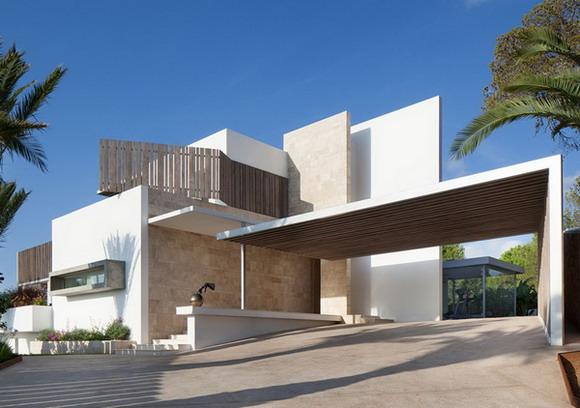 desain rumah minimalis 1 warna