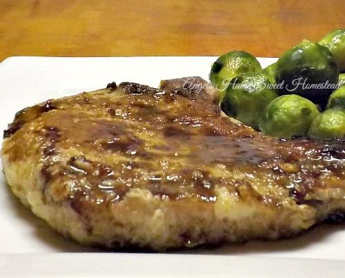 Home Sweet Homestead: Glazed Pork Chops