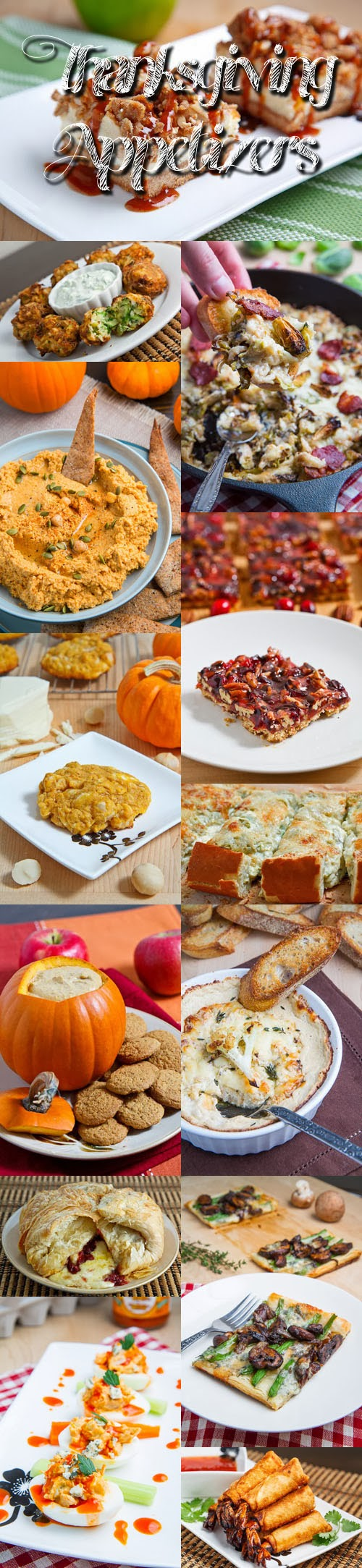 Thanksgiving Appetizer Recipes On Closet Cooking