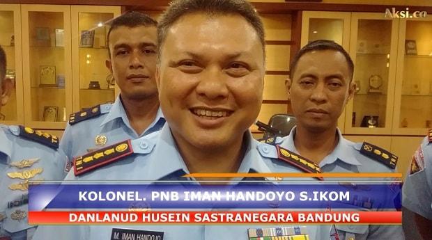 Kolonel PNB Iman Handoyo Silaturahmi dengan Wartawan