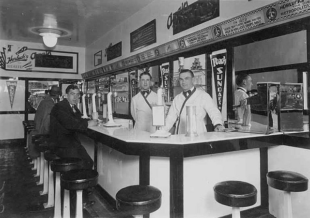 The Passion Of Former Days Soda Shop