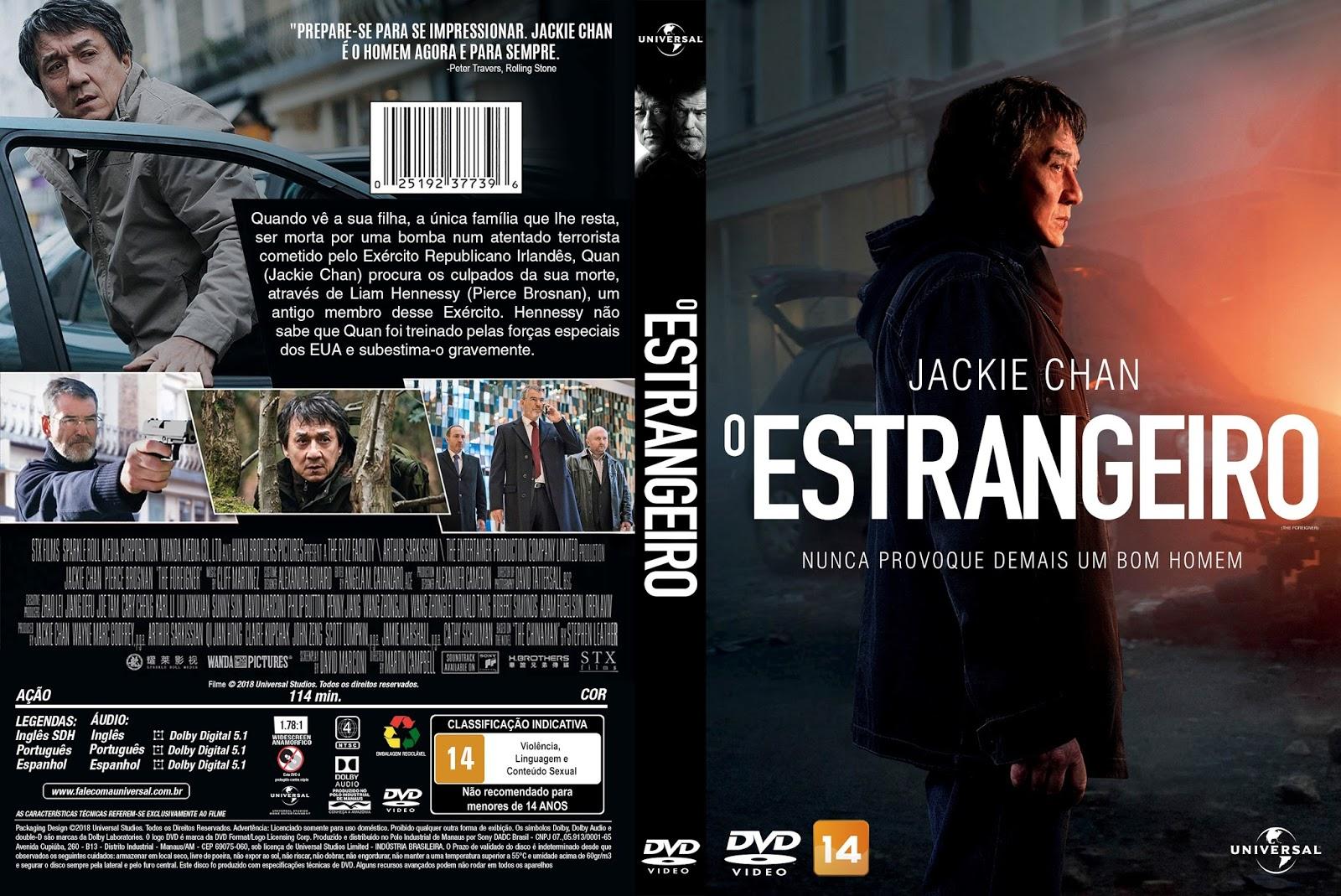 Tudo Capas 04 O Estrangeiro Capa Filme Dvd
