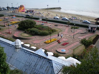 The Shanklin Seafront Crazy Golf course in 2008