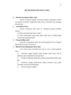 Contoh Karya Tulis Ilmiah Pdf Wood Scribd Indo
