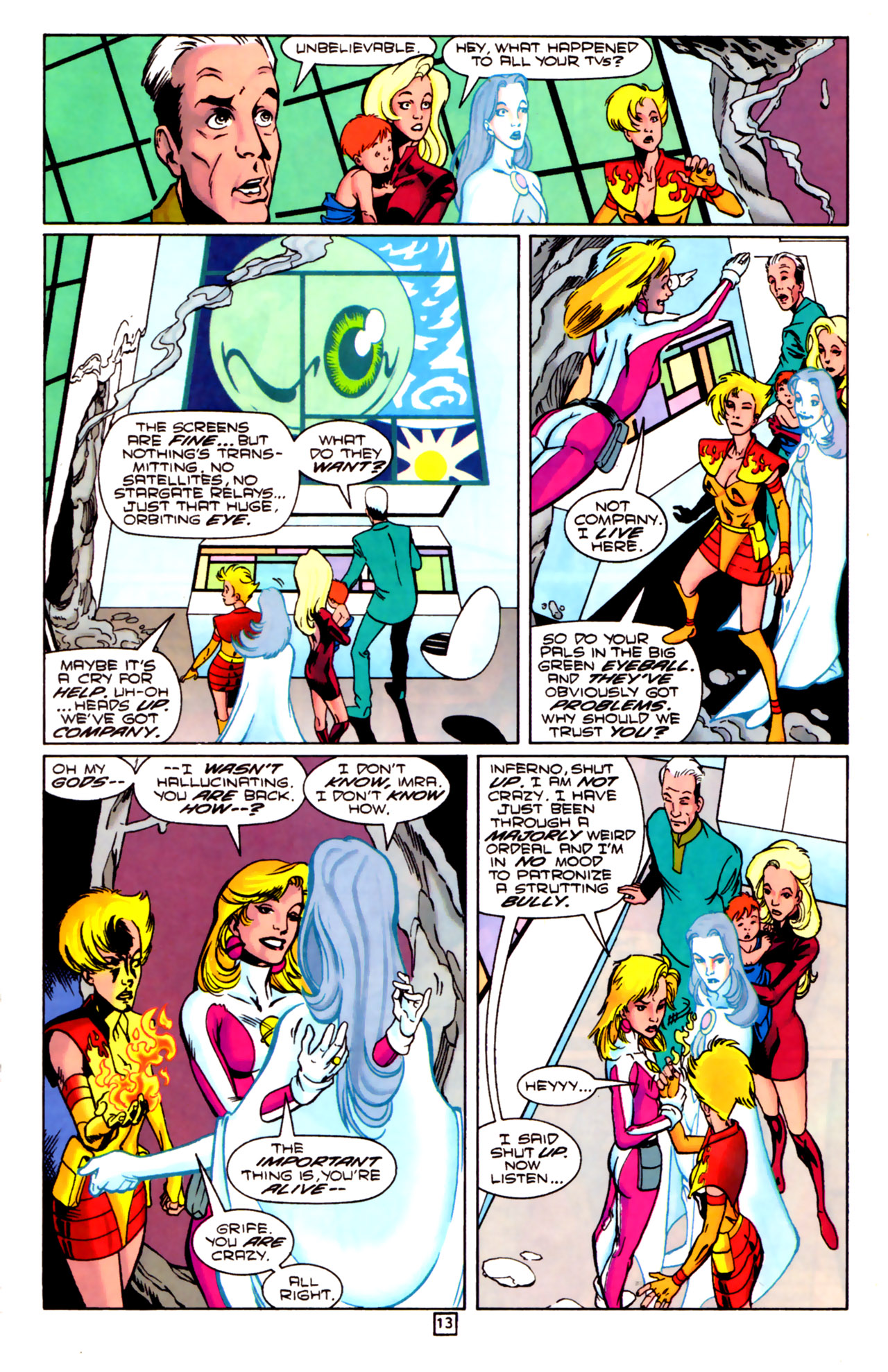 Legion of Super-Heroes (1989) 84 Page 11