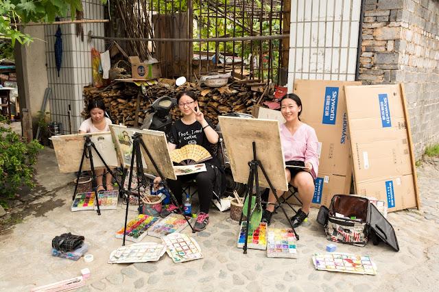 čína, cestování, info o číně, žluté hory, huangshan, posvátné hory, xidi, hongcun