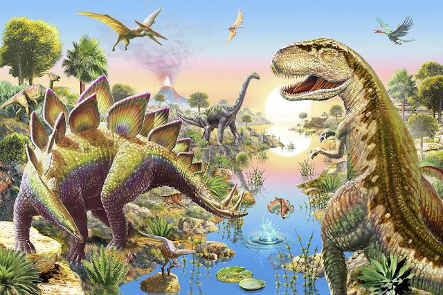 Dinosaurus tapetti