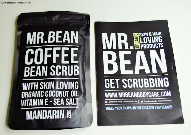 Mr.Bean Mandarin Coffee Scrub Review