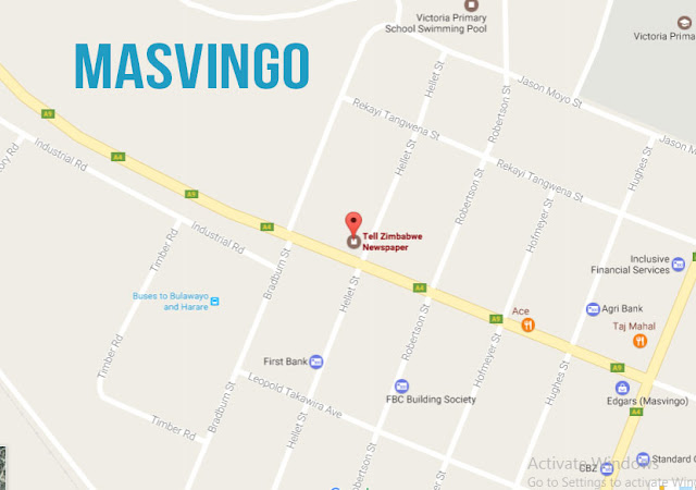 Tell Zimbawe Newspaper location