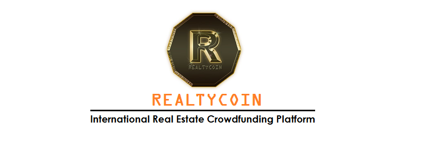 REALTYCOIN - The Best Crowdfunding for Real Estate Transactions