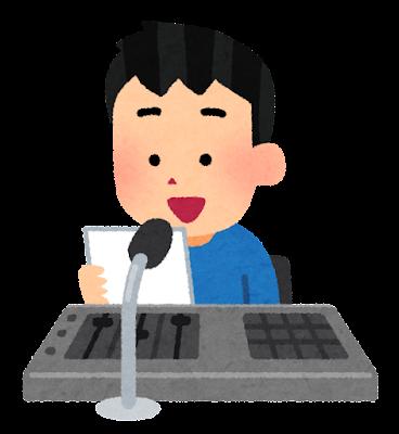 放送委員のイラスト(男の子)